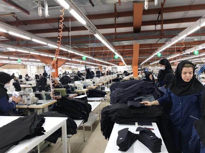 صادرات پوشاک ایرانی به روسیه و جمهوری آذربایجان