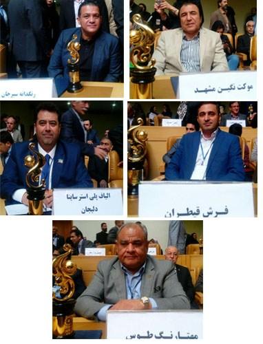صادرکنندگان برتر صنایع نساجی و پوشاک ایران معرفی شدند.