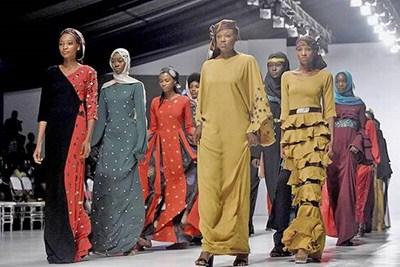 خودنمایی پوشاک اسلامی در هفته مد نیجریه
