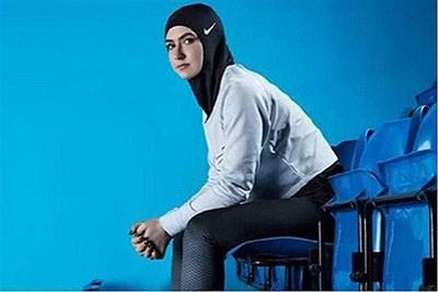نایک حجاب مخصوص بانوان والیبالیست را هم طراحی کرد