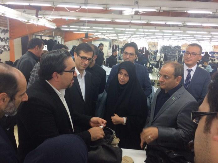 صادرات نخستین محموله پوشاک تولید ایران به ۳۶ کشور جهان