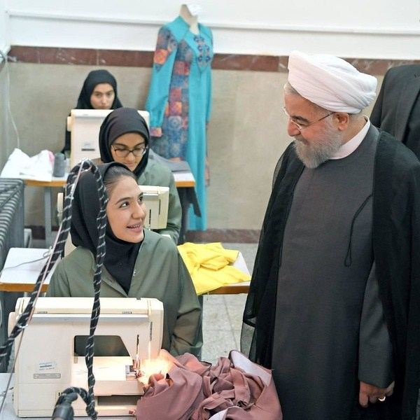 نواختن زنگ افتتاح مدارس توسط رئیسجمهور با رویکرد فرهنگسازی و مهارتآموزی در عرصه مد و لباس