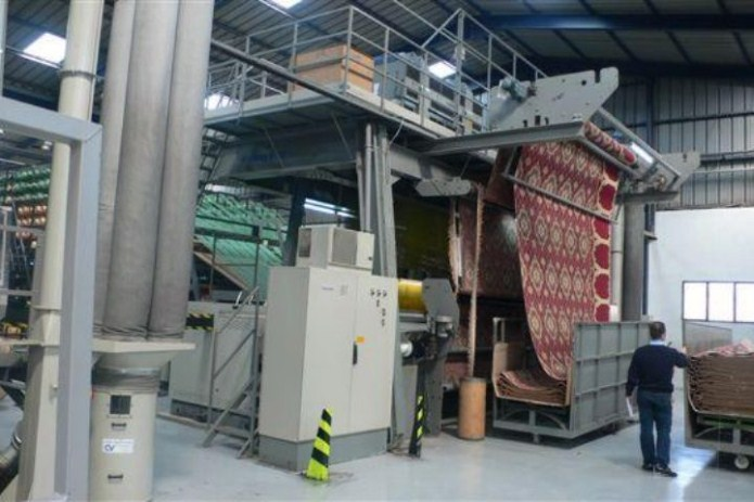 صنعت فرش ماشینی از بروز ترین صنایع دنیا