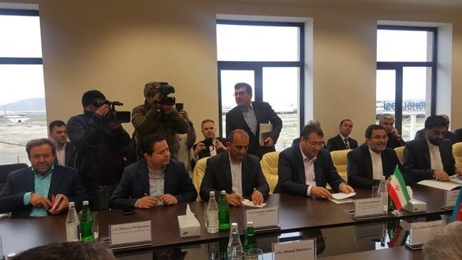 مرکز تجاری ایران در باکو افتتاح شد